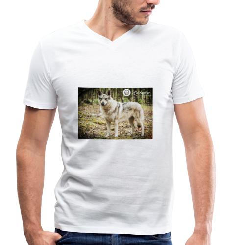 La Tanière des chiens-loups - T-shirt bio col V Stanley & Stella Homme
