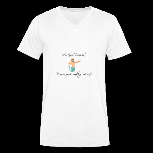 Poseidon - Men's Organic V-Neck T-Shirt by Stanley & Stella