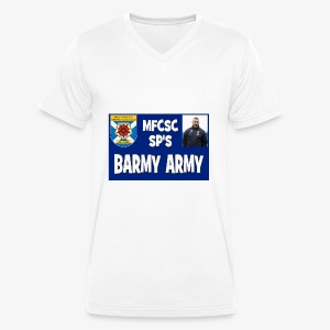 Barmy Army - Men's Organic V-Neck T-Shirt by Stanley & Stella