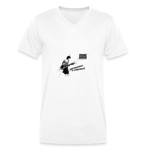 Aufdrehen und Abheben - Männer Bio-T-Shirt mit V-Ausschnitt von Stanley & Stella