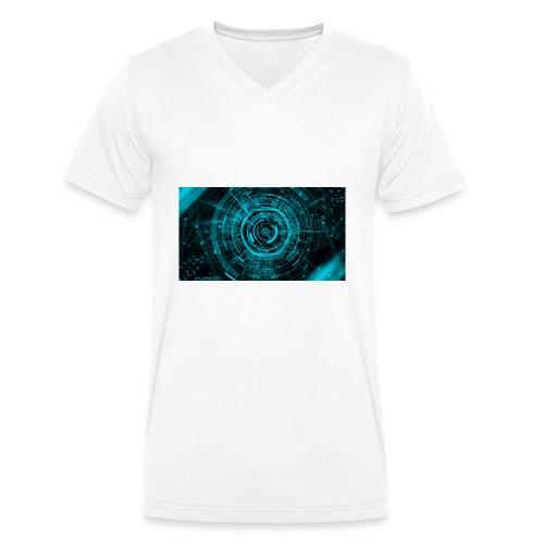 Keepi v1 - Männer Bio-T-Shirt mit V-Ausschnitt von Stanley & Stella