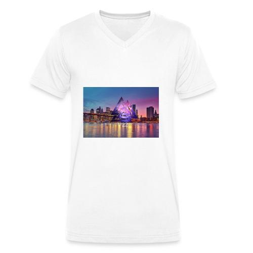 7BB39707 5D27 460C A1B9 AAD957D51321 - Ekologisk T-shirt med V-ringning herr från Stanley & Stella