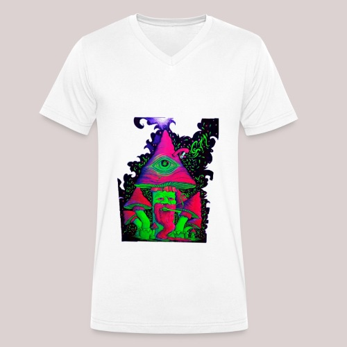 Shroom - Männer Bio-T-Shirt mit V-Ausschnitt von Stanley & Stella