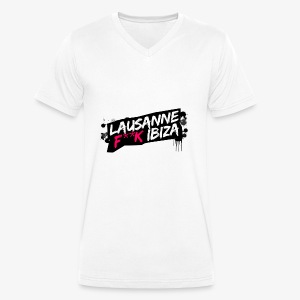 lausanne F**k ibiza - T-shirt bio col V Stanley & Stella Homme