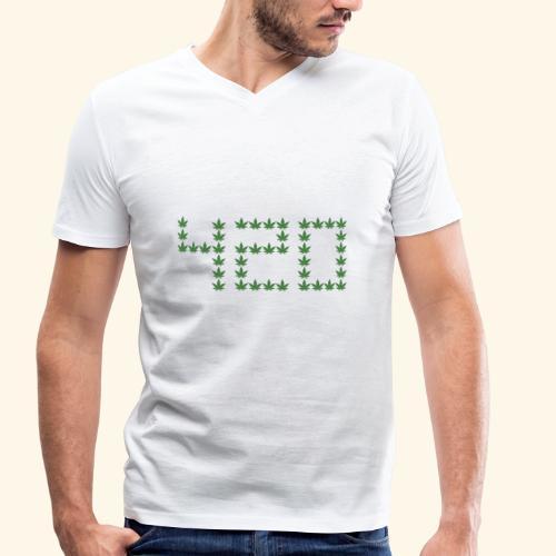420 - Männer Bio-T-Shirt mit V-Ausschnitt von Stanley & Stella
