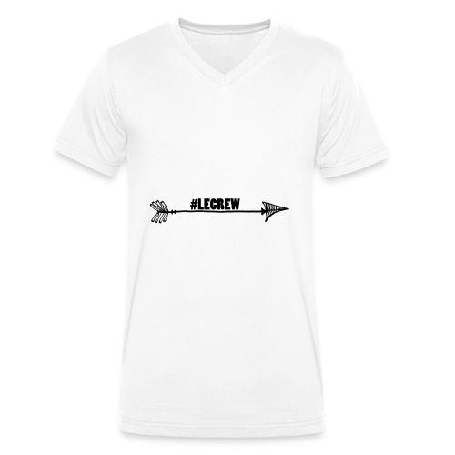 LECREW MERCHANDISE - Männer Bio-T-Shirt mit V-Ausschnitt von Stanley & Stella