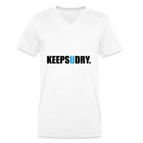 keepsudry - Männer Bio-T-Shirt mit V-Ausschnitt von Stanley & Stella