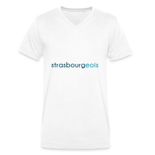 Strasbourgeois - T-shirt bio col V Stanley & Stella Homme