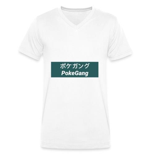 PokeGang - Männer Bio-T-Shirt mit V-Ausschnitt von Stanley & Stella