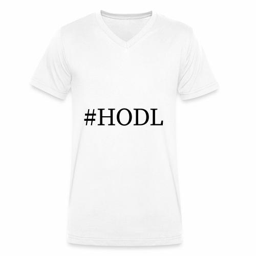 Hodl - Männer Bio-T-Shirt mit V-Ausschnitt von Stanley & Stella