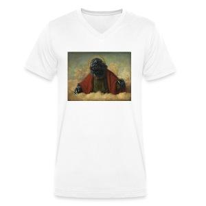Godzilla - T-shirt bio col V Stanley & Stella Homme