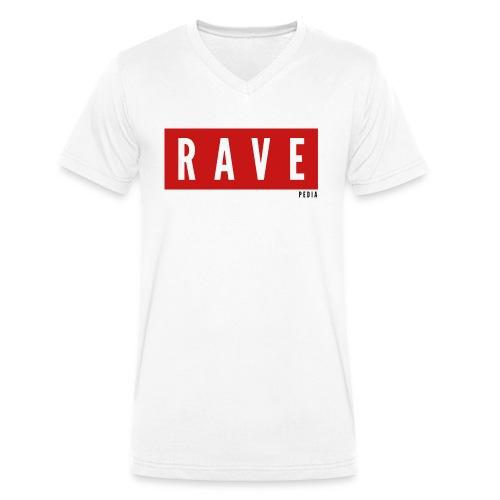 Rave Shirt für Festivals, Raver, Electro Festivals - Männer Bio-T-Shirt mit V-Ausschnitt von Stanley & Stella
