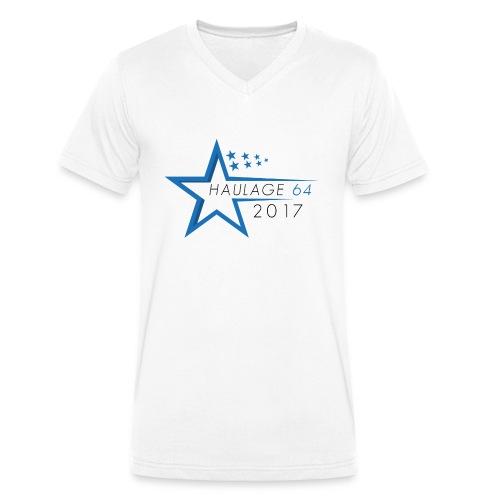 H64 2017 - Men's Organic V-Neck T-Shirt by Stanley & Stella