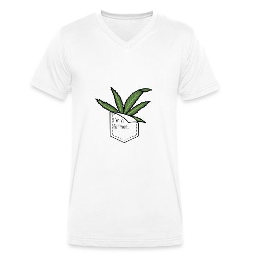 i'm a farmer - T-shirt ecologica da uomo con scollo a V di Stanley & Stella