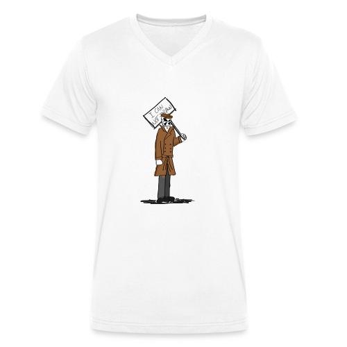 I can not draw... - Camiseta ecológica hombre con cuello de pico de Stanley & Stella