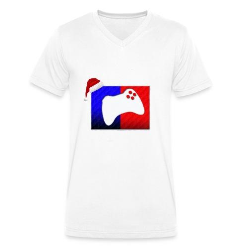 XboxgamerZ Kerst Shirt LIMITED EDITON (21/01) - Mannen bio T-shirt met V-hals van Stanley & Stella