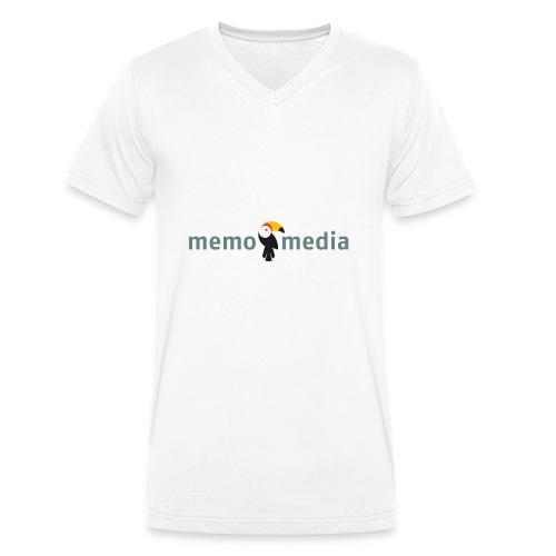 Memo - Männer Bio-T-Shirt mit V-Ausschnitt von Stanley & Stella