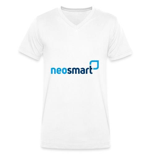 neosmart - Männer Bio-T-Shirt mit V-Ausschnitt von Stanley & Stella