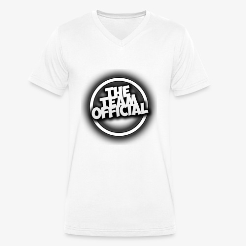 The Team Official Banner 2 - Men's Organic V-Neck T-Shirt by Stanley & Stella