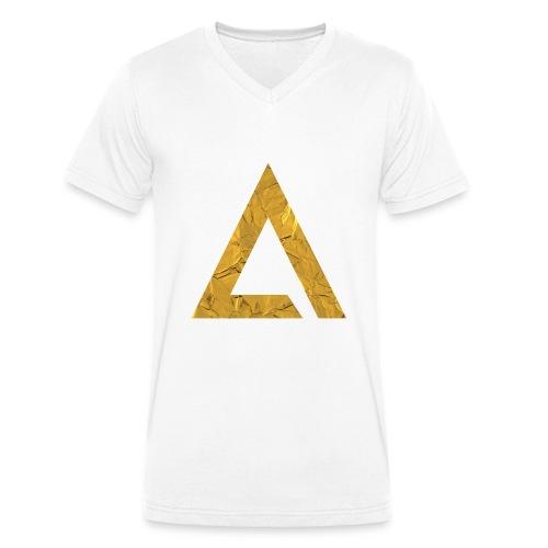 Spreadshirt1 - Männer Bio-T-Shirt mit V-Ausschnitt von Stanley & Stella