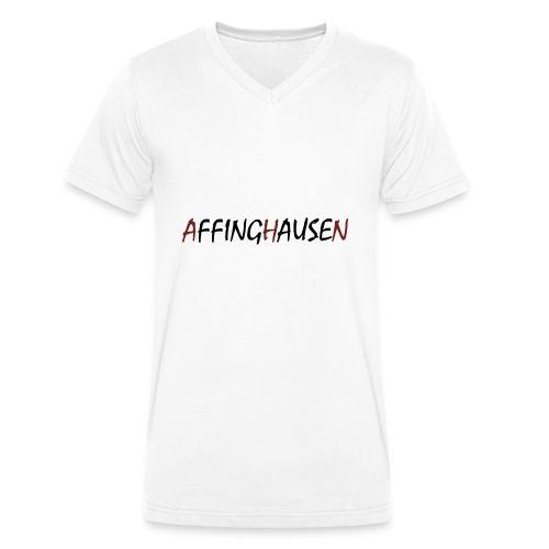 AFFINGHAUSEN - Männer Bio-T-Shirt mit V-Ausschnitt von Stanley & Stella