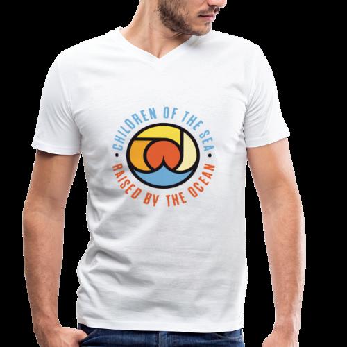 COTS Basic - Männer Bio-T-Shirt mit V-Ausschnitt von Stanley & Stella