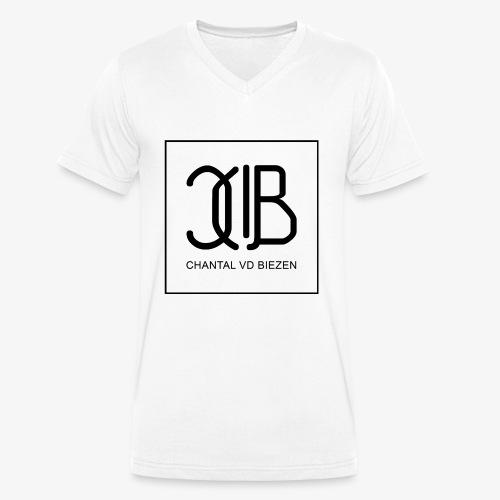 Chantal Vd Biezen Fan Artikel (Logo-Schwarz) - Männer Bio-T-Shirt mit V-Ausschnitt von Stanley & Stella