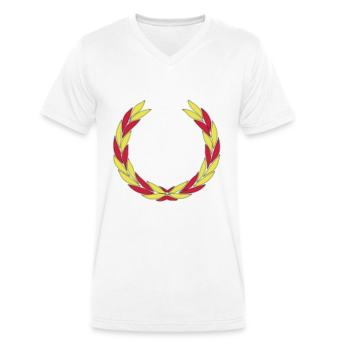BS--_stor_text-_helvitt-_transp_botten-svg - Ekologisk T-shirt med V-ringning herr från Stanley & Stella