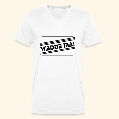 Wadde ma! RETRO-Style - Männer Bio-T-Shirt mit V-Ausschnitt von Stanley & Stella