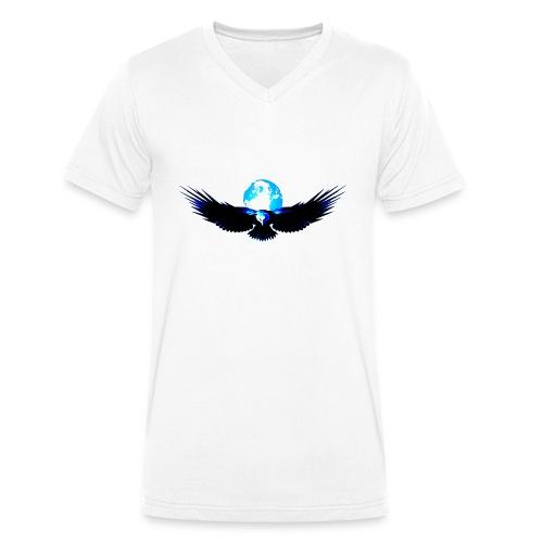 eagle earth - Mannen bio T-shirt met V-hals van Stanley & Stella