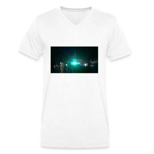 Ravelights - T-shirt ecologica da uomo con scollo a V di Stanley & Stella
