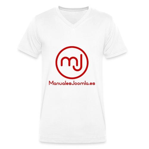 ManualesJoomla.es - Camiseta ecológica hombre con cuello de pico de Stanley & Stella