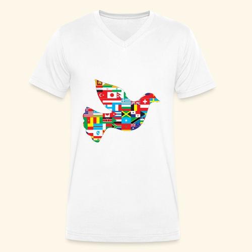 countrys t-shirt - Camiseta ecológica hombre con cuello de pico de Stanley & Stella