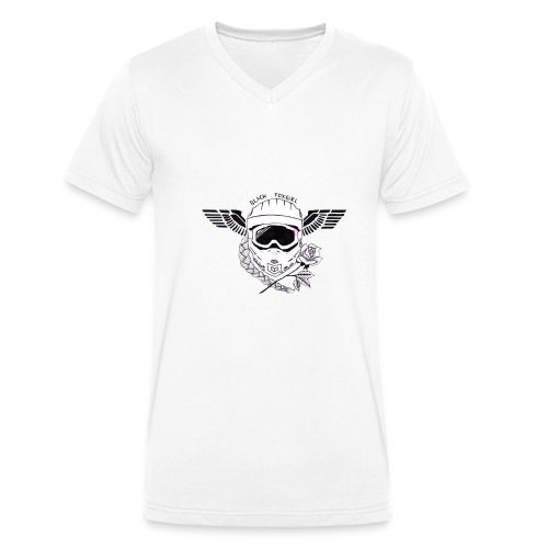 foxy crew - Männer Bio-T-Shirt mit V-Ausschnitt von Stanley & Stella