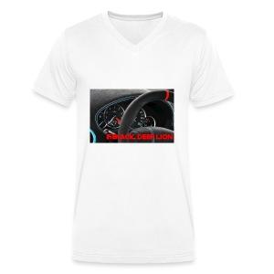 Black Deep Lion Package - Männer Bio-T-Shirt mit V-Ausschnitt von Stanley & Stella