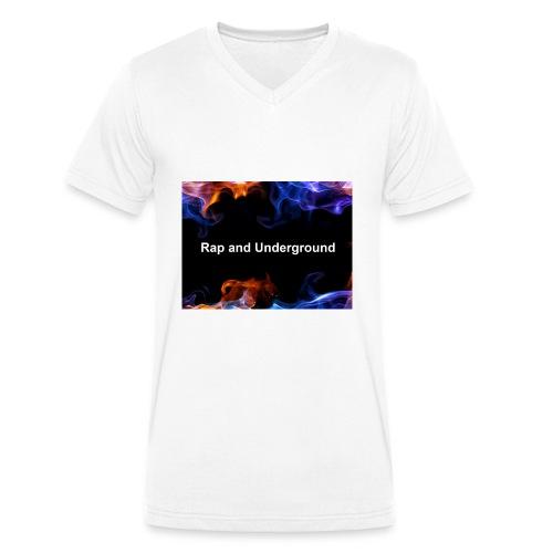 Rap and underground logo - Männer Bio-T-Shirt mit V-Ausschnitt von Stanley & Stella