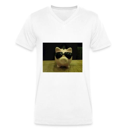 Cool dude - Men's Organic V-Neck T-Shirt by Stanley & Stella