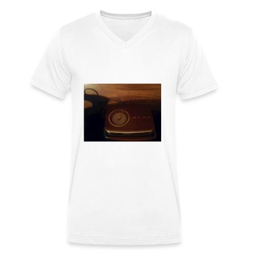 20180112 083300 - Økologisk Stanley & Stella T-shirt med V-udskæring til herrer