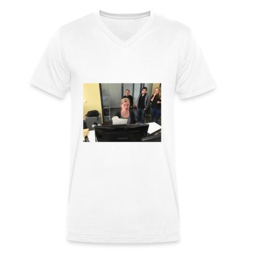 IMG_0130-jpg - Ekologiczna koszulka męska z dekoltem w serek Stanley & Stella