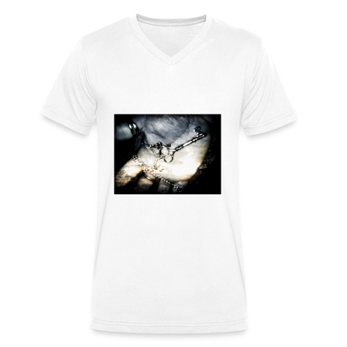 Finaly Excape - T-shirt ecologica da uomo con scollo a V di Stanley & Stella