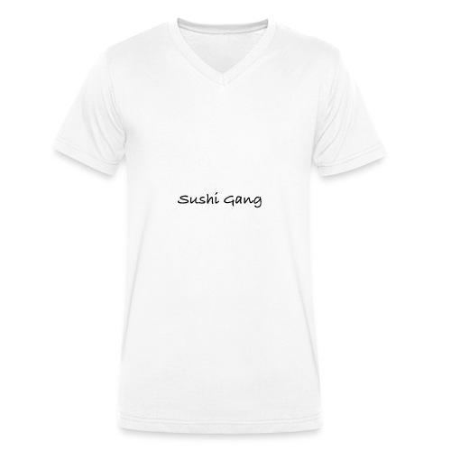 Sushi Gang - Männer Bio-T-Shirt mit V-Ausschnitt von Stanley & Stella