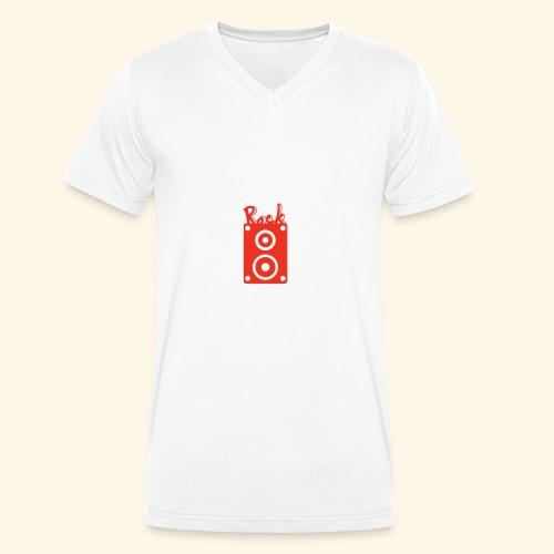 Rock Box - Männer Bio-T-Shirt mit V-Ausschnitt von Stanley & Stella