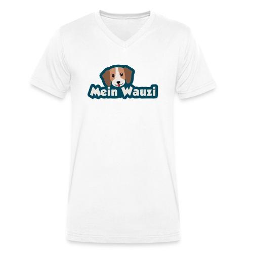 MeinWauzi - Männer Bio-T-Shirt mit V-Ausschnitt von Stanley & Stella