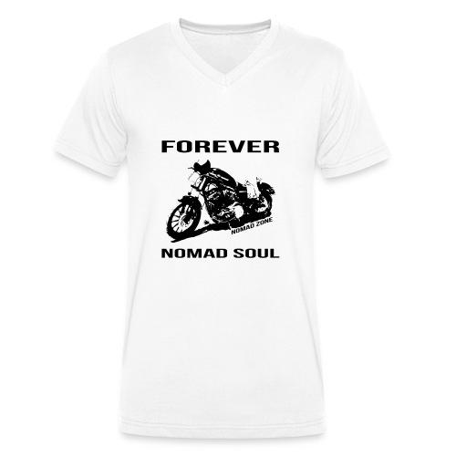 Forever Nomad Soul Bike - Camiseta ecológica hombre con cuello de pico de Stanley & Stella