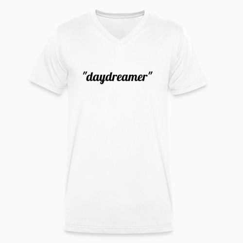 daydreamer - Men's Organic V-Neck T-Shirt by Stanley & Stella