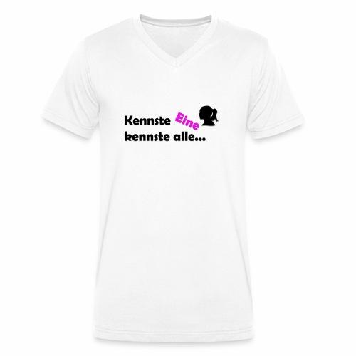 Kennst Eine kennste alle... - Männer Bio-T-Shirt mit V-Ausschnitt von Stanley & Stella