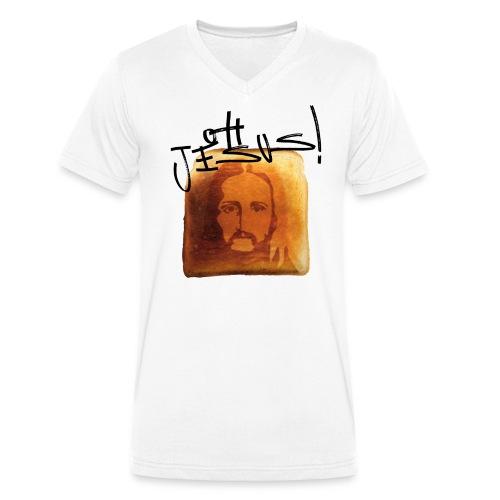 OH JESUS! - Männer Bio-T-Shirt mit V-Ausschnitt von Stanley & Stella