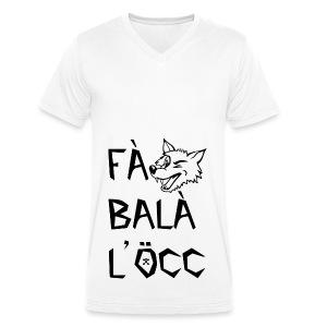 Fa balà l'occ - nero - T-shirt ecologica da uomo con scollo a V di Stanley & Stella