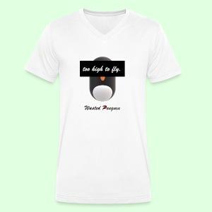 W. Penguin Pure Logo - Männer Bio-T-Shirt mit V-Ausschnitt von Stanley & Stella