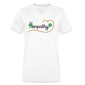 Hempathy - Männer Bio-T-Shirt mit V-Ausschnitt von Stanley & Stella
